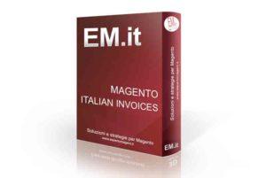 Magento plugin Italian Invoices modulo fatturazione