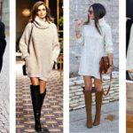 Ottenere alla moda con abiti maglione